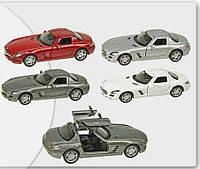 Машина металлическая Mercedes-Benz SLS AMG  KT5349W