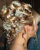 Весільна зачіска Салон краси «Доміно» Львiв (Сихів)