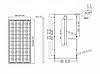 Солнечная батарея Kingdom Solar KDM KD-M250-60 (Моно 250 Вт 24 В), фото 2