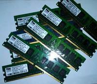 DDR2 PC4200 память 512 Mb 800 4-4-4 Тестированная