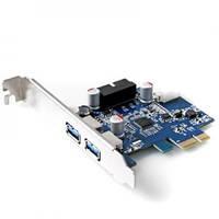 PCIe USB3.0 NEC Контроллер 2 port + 20pin гнездо