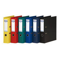 Папка-регистратор А4 70мм DONAU Premium 3975001-13 серая