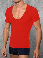Мужская футболка Doreanse City 2820 красный