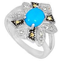 Бирюза, серебро 925, 101КБ кольцо