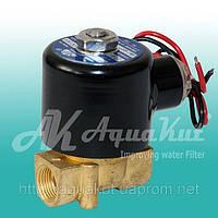 "Соленоидный электромагнитный клапан 3/8"" / 220v / 2W-040-10."