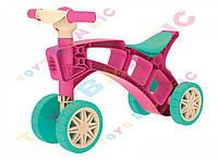 """Іграшка """"Ролоцикл ТехноК""""  3824   (рожевий жовтий )"""