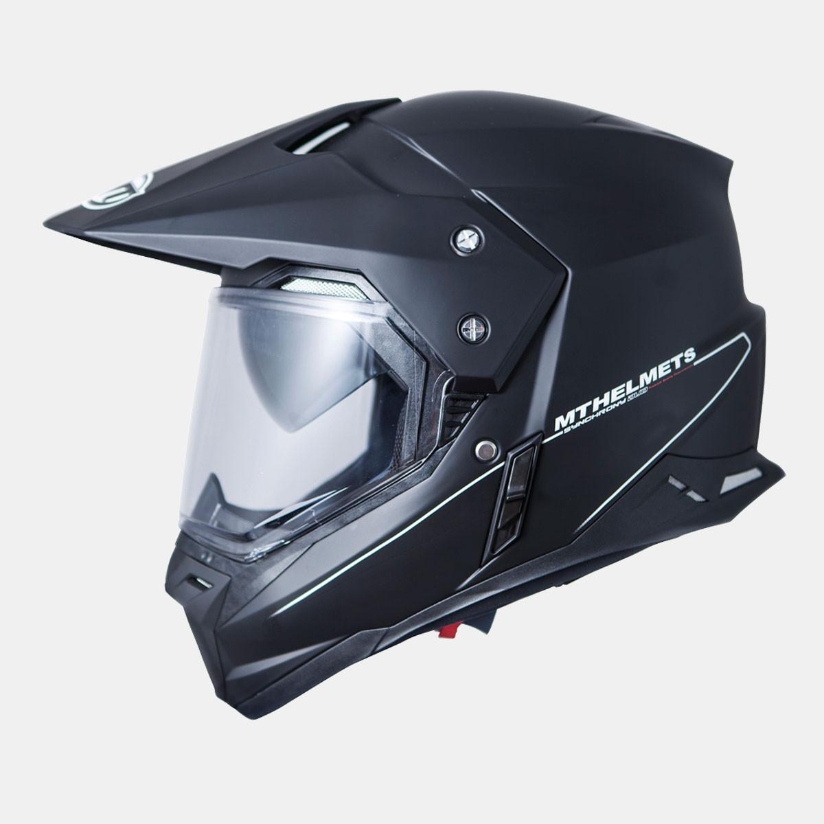Мотошлем MT Synchrony Duo Sport Gloss Black
