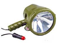 Фонарь ручной, галогеновый, 12V 35W, в прикуриватель Lavita