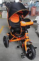 Трехколесный велосипед TILLY Camaro T-362 Air с фарой, оранжевый***