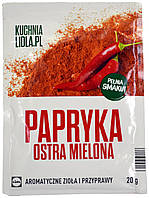 Приправа Паприка острая молотая KUCHNIA LIDLA.PL 20г.