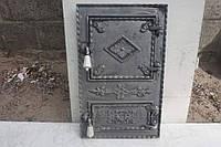 "Дверца печная спарка ""Ромб""  вн.410х230, фасад 490х310"