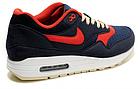 Мужские кроссовки Nike Air Max 87 (в стиле Найк Аир Макс 87) синие, фото 3