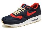 Мужские кроссовки Nike Air Max 87 (в стиле Найк Аир Макс 87) синие, фото 4