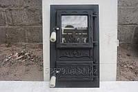 Дверца печная Пламя (кооп) черн