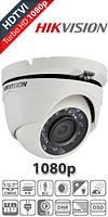 Видеокамера купольная Hikvision Turbo HD 2mp DS-2CE56D1T-IRM