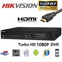 16-канальный видеорегистратор Hikvision Turbo HD DS-7316HQHI-SH