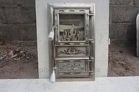 Дверца печная Пламя блеск КООП вн.450х220