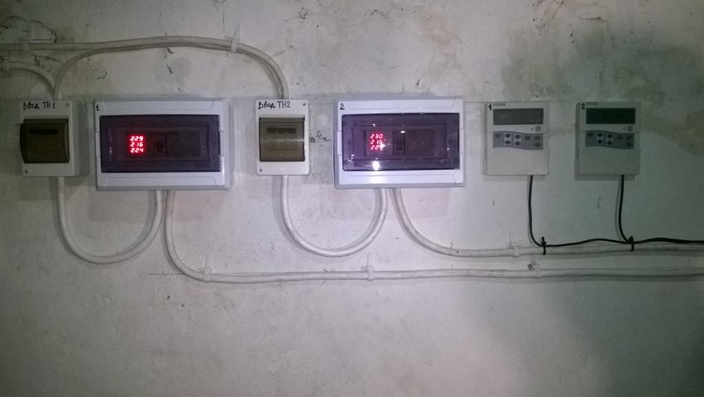 Монтаж тепловых насосов CliTech CAR-40GB для нагрева бассейна и ГВС 5