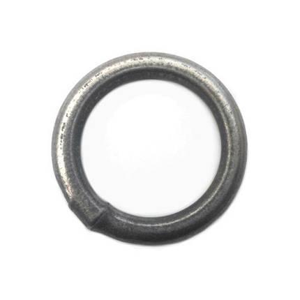 Кольцо стальное сварное 6 х 40 среднее (металлическое), фото 2