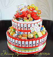 Торт из Киндер шоколада мальчишкам и девченкам, фото 1
