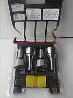 Секретки на колеса (секретные болты) М14х1,5 L=27мм., под Конус - элит., закр., 2 ключа в комплекте.