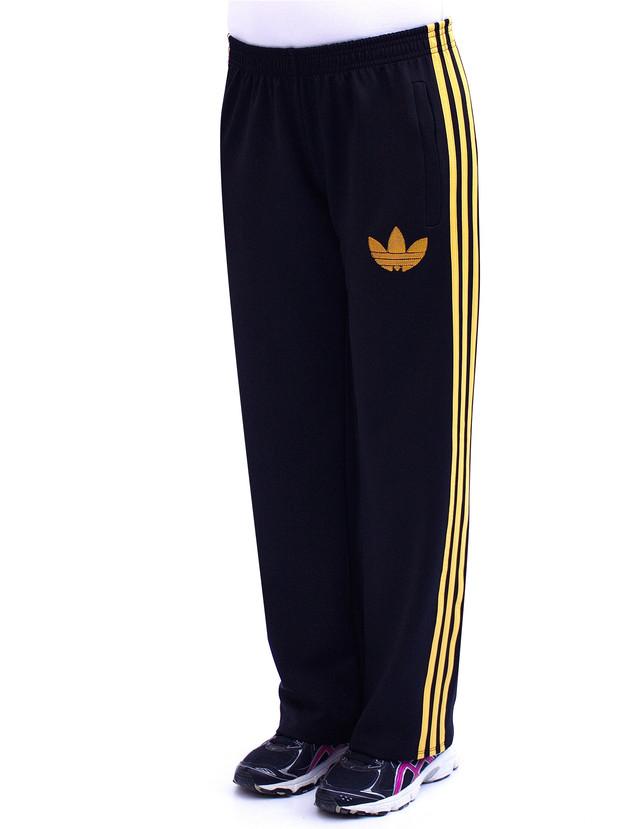брюки спортивного стиля с желтыми полосками фото teens.ua