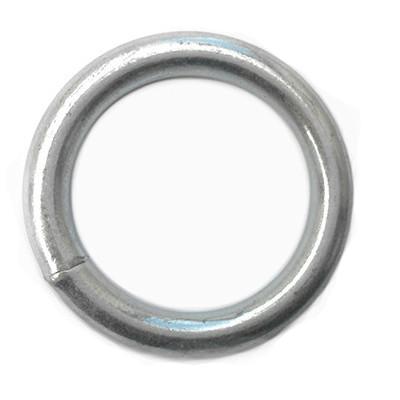 Кольцо сварное оцинкованное 8 х 43 (стальное, металлическое)