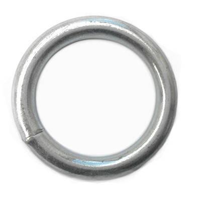 Кольцо сварное оцинкованное 8 х 43 (стальное, металлическое), фото 2