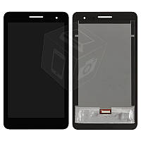 """Дисплейный модуль (дисплей + сенсор) для Huawei MediaPad T1 7.0"""" 3G, черный, оригинал"""