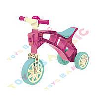 """Іграшка """"Ролоцикл 3 ТехноК""""  3831  ( рожевий жовтий )"""