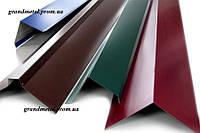 Торцевая ветровая планка, ветровая планка для металлочерепицы,ветровая планка для шифера , купить ветровую