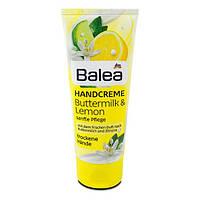 Крем для сухой кожи рук Balea со сливками и лимоном, 100 мл
