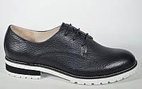 Туфли кожаные без каблука  FIRAGEMA мега стильные