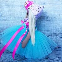 Кукла в голубой шопенке
