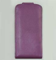 Iphone 4 чехол футляр флип фиолетовый