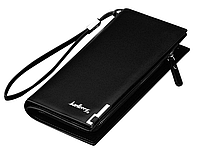 Клатч портмоне мужской черный Baellerry SW002B