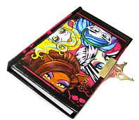 """Блокнот в подарочной упаковке 9010MS """"Monster High"""" с ручкой"""
