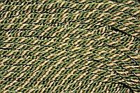 Канат декоративный Т. 10 мм (50м) хаки+золото, фото 1