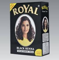 Индийская хна басма черная Royal натуральная