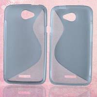 Гель Чехол HTC One X XL S720e серый