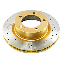 Тормозной диск DBA 2722X  X-GOLD передний для Toyota LC200 / LX570 340мм