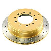 Тормозной диск DBA 42723XS  HD 4000XS задний для Toyota LC200 / LX570 345 мм
