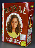 Индийская хна басма коричневая Royal натуральная