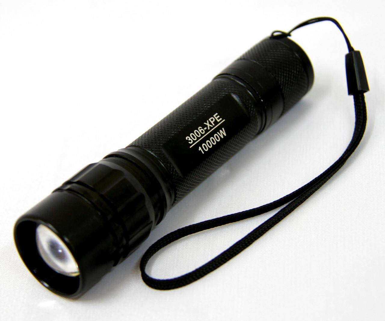 Фонарь 3006-XPE аккумуляторный