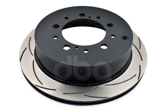 Диск тормозной задний DBA 42723S ClubSpec 4000 T3  для Toyota LC200 / LX570 345мм