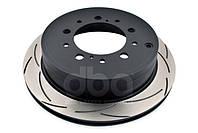 Тормозной диск DBA 42723S ClubSpec 4000 T3 задний для Toyota LC200 / LX570 345мм