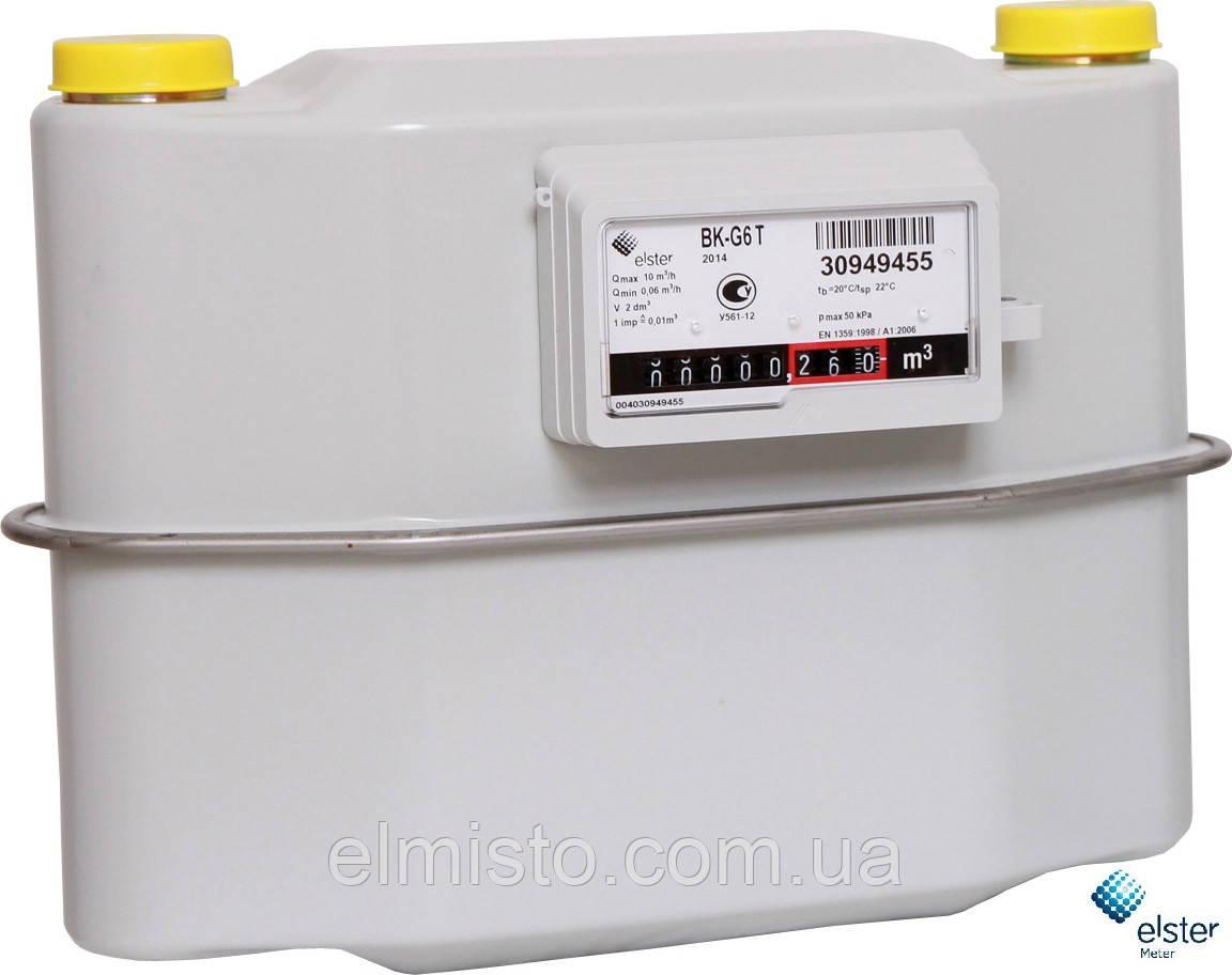 счетчик газа bk g6t характеристики