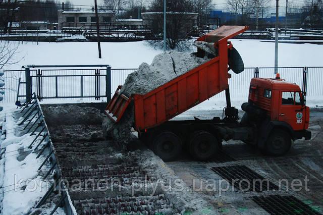 Услуги уборки и вывоза снега и льда
