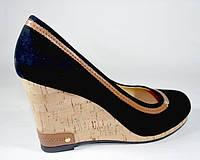 Туфли женские на платформе Solange замша