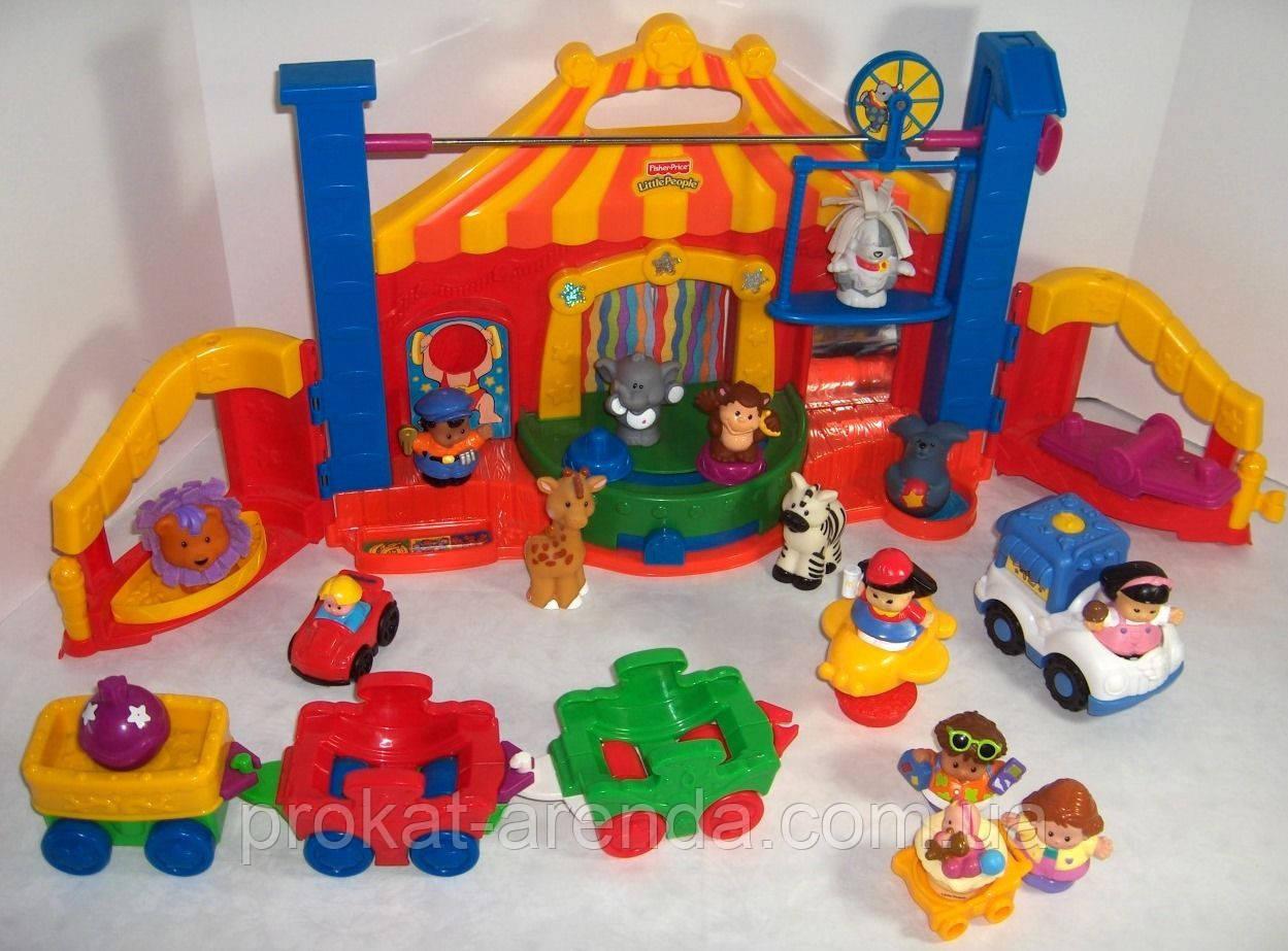 """Развивающая игрушка  Fisher Price  Little People """"Цирк"""""""